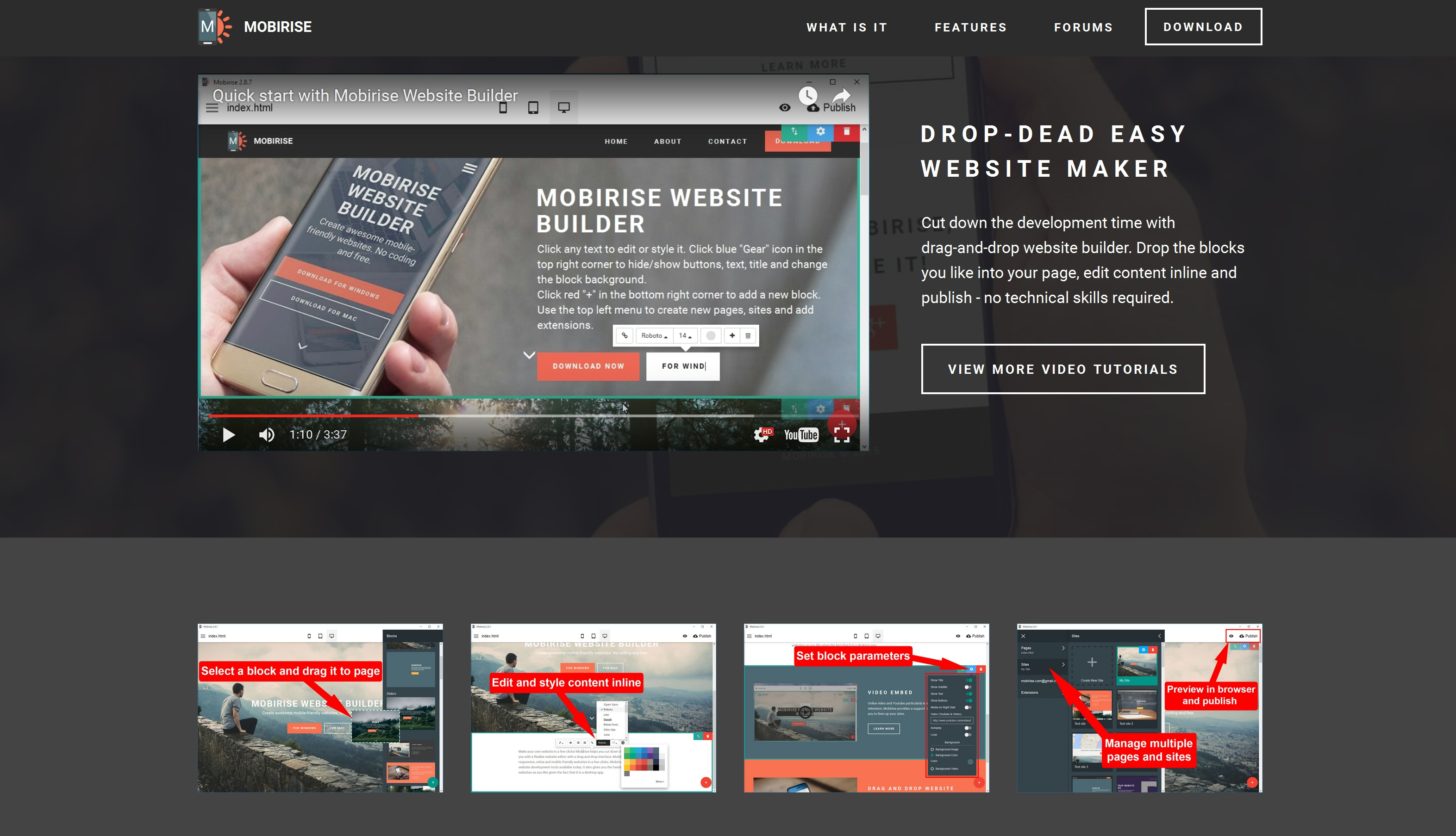 WYSIWYG Mobile Website Builder Review