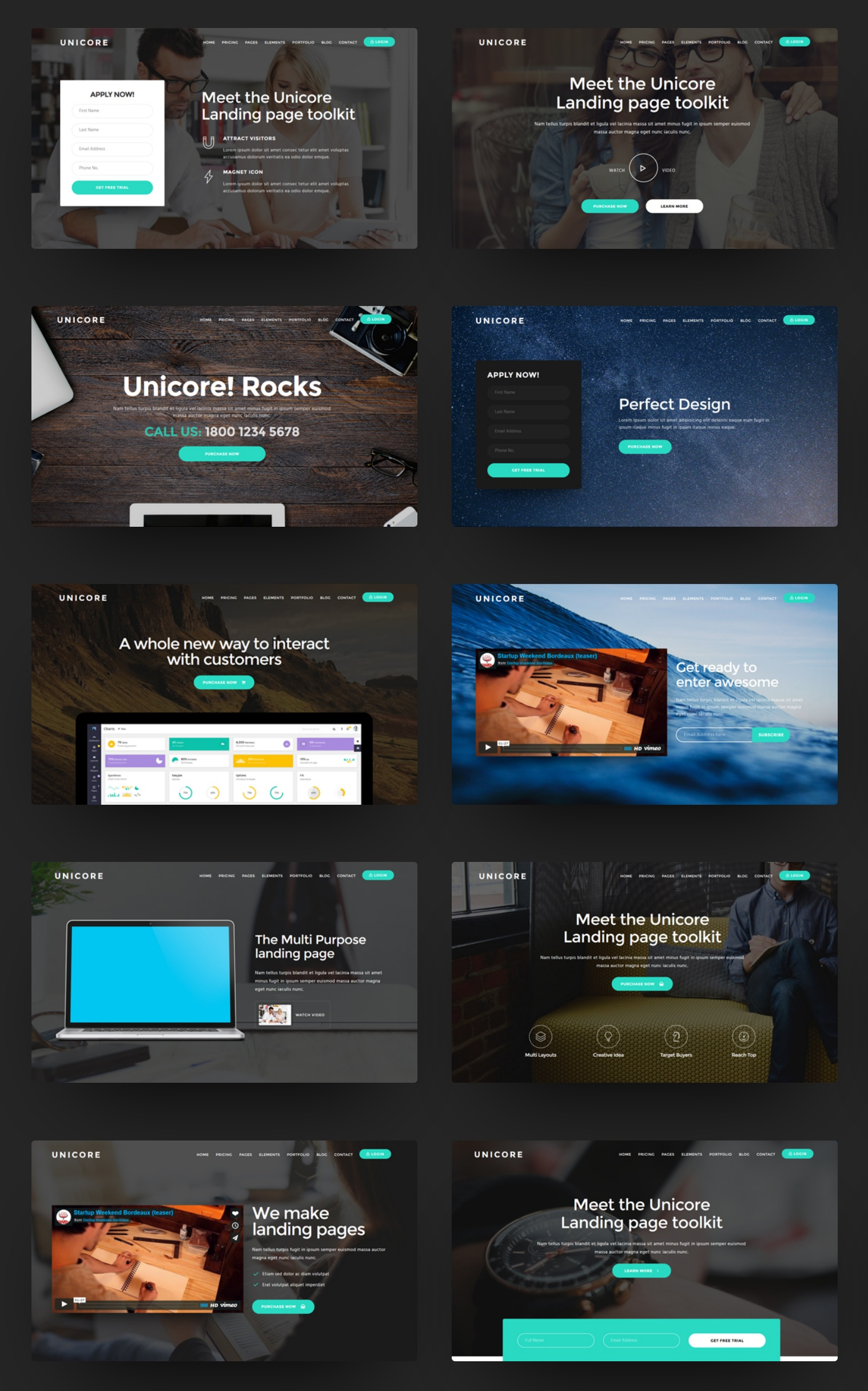 Custom Bootstrap  Theme