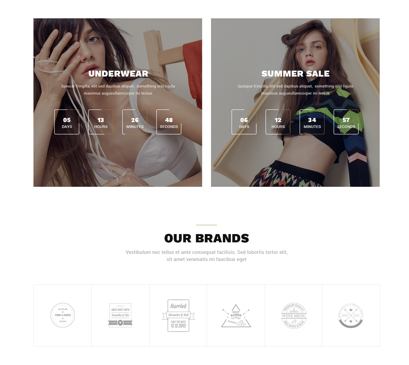 HTML Bootstrap Single Page Theme