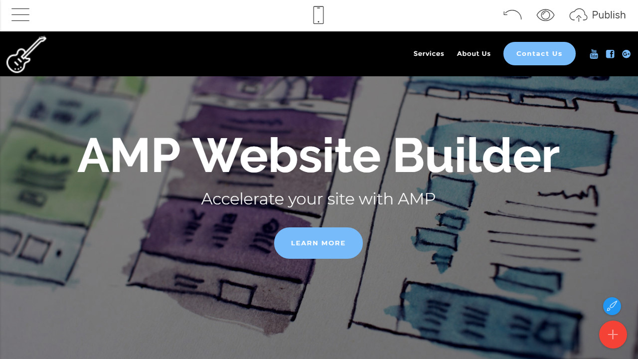 Simple Bootstrap HTML Landing Page Templates Overview
