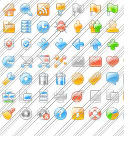 Icon Or Sub Menu Picture Templates Dreamweaver Templates Rounded Left Bar
