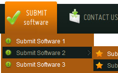 Dreamweaver Rounded Corners Menu Bar Css Lists Templates