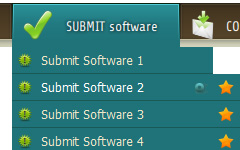 Dreamweaver Drop Down Menu In Frame Script For Buttons Links Submenus