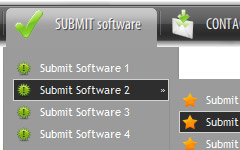 Dreamweaver Spry Tabbed Panel Rounded Tabs Navigation Bar Function In Dreamweaver Cs3