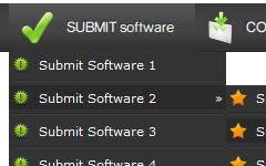 Dreamweaver Spry Dropdown Example Membuat Drop Down Menu Di Dreamweaver