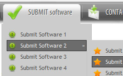 Dreamweaver Java Buttons Tutorials Dreamweaver Submenu Menu