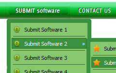 Free Dreamweaver Menus Tab Menu Tutorial Dreamwearver Cs3