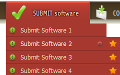 Tab Selection In Dreamweaver Template Free Dreamweaver Templates Horizontal Navigation
