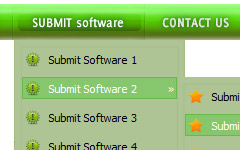 Dreamweaver8 Drop Down Button Sub Tab Set In Dreamweaver