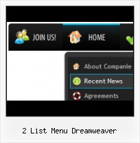 Drop Down Buttons In Dreamweaver 8 Foldout Meny