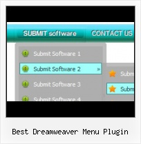 Drag Drop Menu Method In Dreamweaver Mouseover Pulldown In Dreamweaver Cs