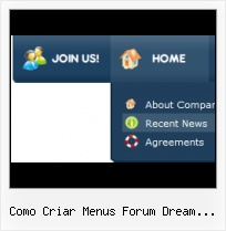 Dreamveaver Js Button Menu Bar Code