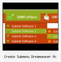 Rounded Button Link For Dreamviewer Dreamweaver Cs3 Xml Horizontal Navigation Menu