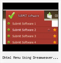 Crear Menu Dream Weaver Rounded Tab Template Html