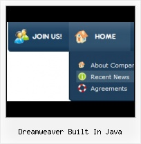 Dynamic Menu Dreamweaver Readymade Html Projects