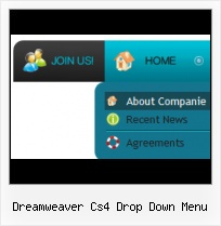 Dreamweaver 3 State Button Spry Widget Horizontal Menu