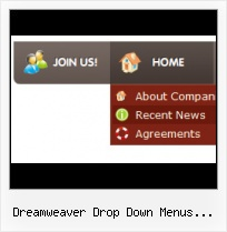 Dreamweaver Spry Web Page Examples Vertical Slide Down Menu Css