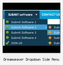 Creating Navigation Submenu In Dreamweaver Js Animate Button Mouseover