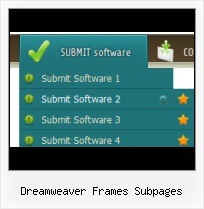 Macromedia Dreamweaver 8 Vertical Dropdowns Template Knoppen