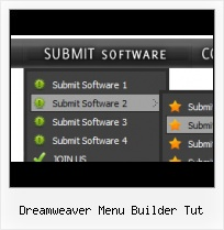 Dreamweaver Horizontal Menu Lists Dreamweaver Free Plugins Button