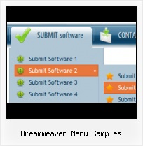 Smooth Menu Dreamweaver Dropdown Button Maker