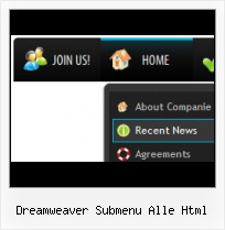 Dreamweaver Navigation Menus Tree Left Side Navigation Bar Website Templates