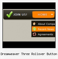 Dreamweaver Drop Down Menu Tutorial Rollover Button Template Photoshop