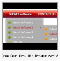Animated Button In Dreamweaver Side Menu Bar Template In Html