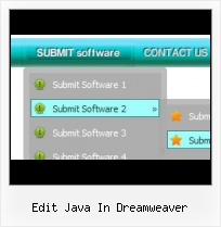 Dreamweaver Java Menu Buttons And Drops