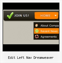 Expanding Navigation Bar Design Dreamweaver Swiss Menu Templates