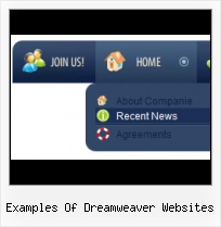 Dreamweaver Light Blue Code Free Web Template With Transparent Buttons