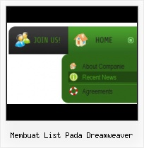 Dreamweaver Templates Rollover Menu Creating A Tab Menu In Dreamweaver