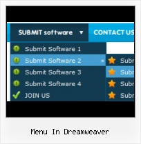 Nice Dreamweaver Menus Side Bar Navigation With Dropdown Dreamweaver