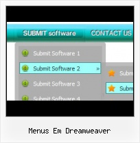 Flyout Menu Dreamweaver 8 Html Sample Code Artistic Menu Bar