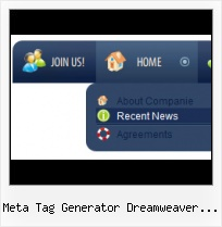 Simple Button Menu Dreamweaver Javascript Button Maker