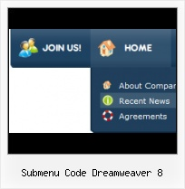 Create Submenu Dreamweaver Mx Menu Verticale Template