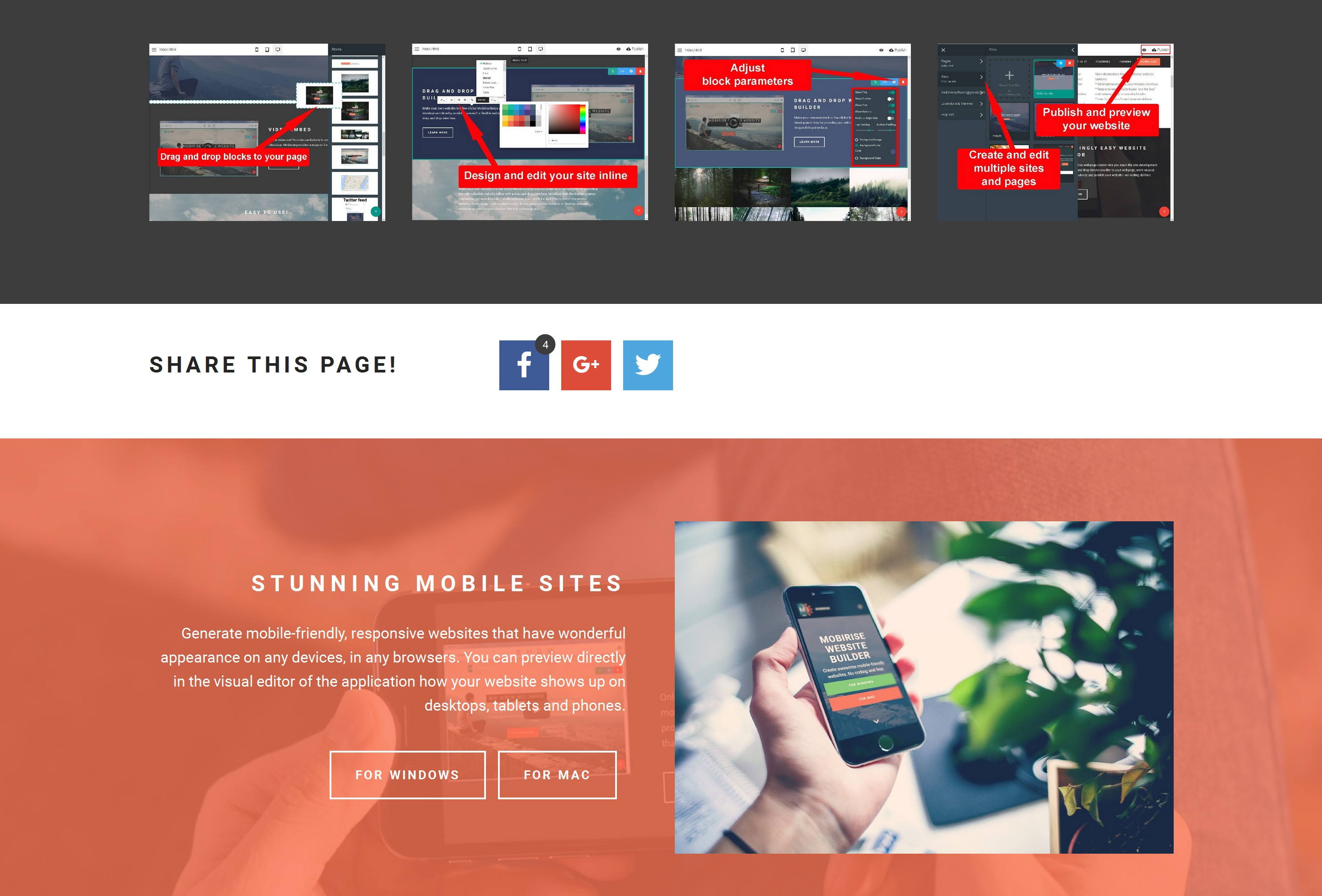 Mobile Web Page  Creator Review