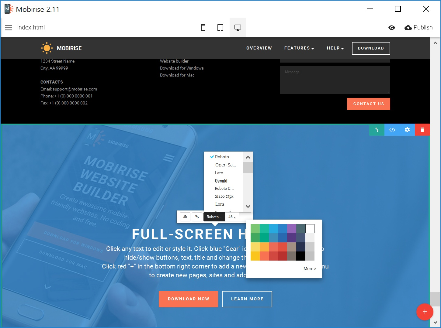 Best Drag and Drop Web Page  Creator
