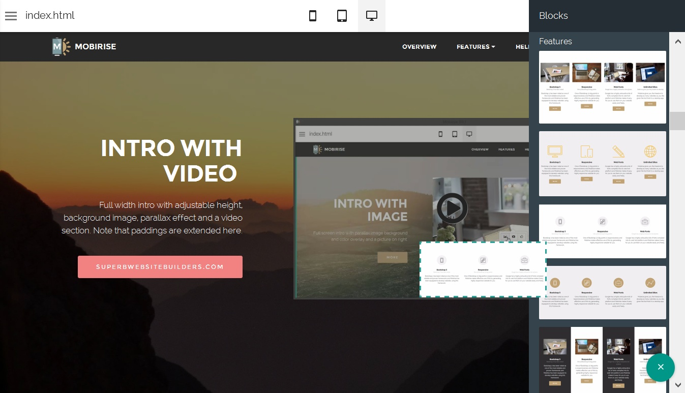 Responsive Website Generator