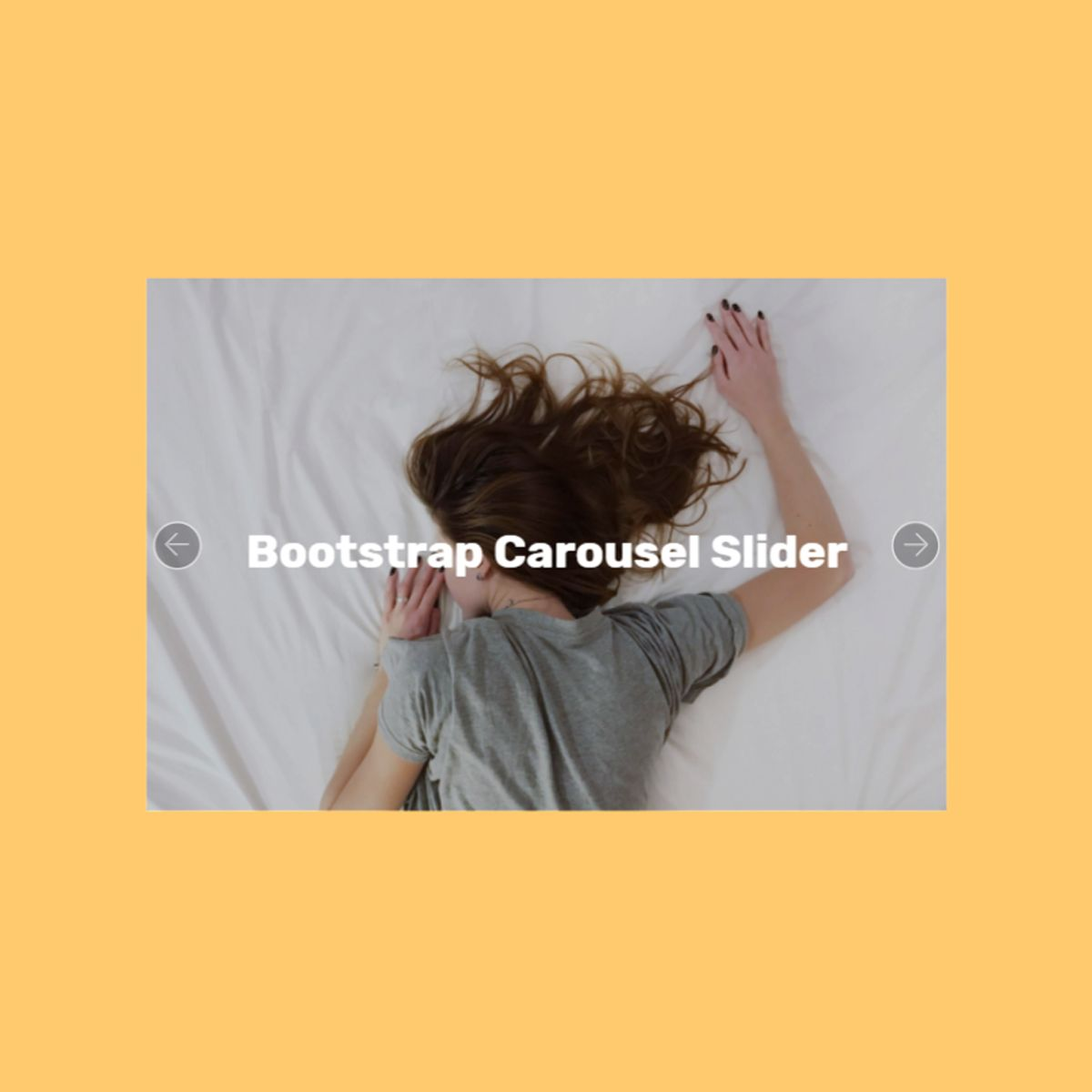 Mobile Bootstrap Photo Carousel