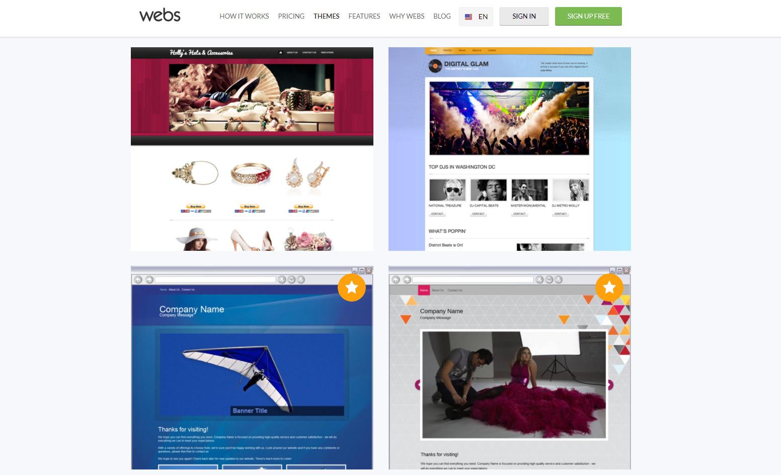 webs yarn, webs app, webs builder