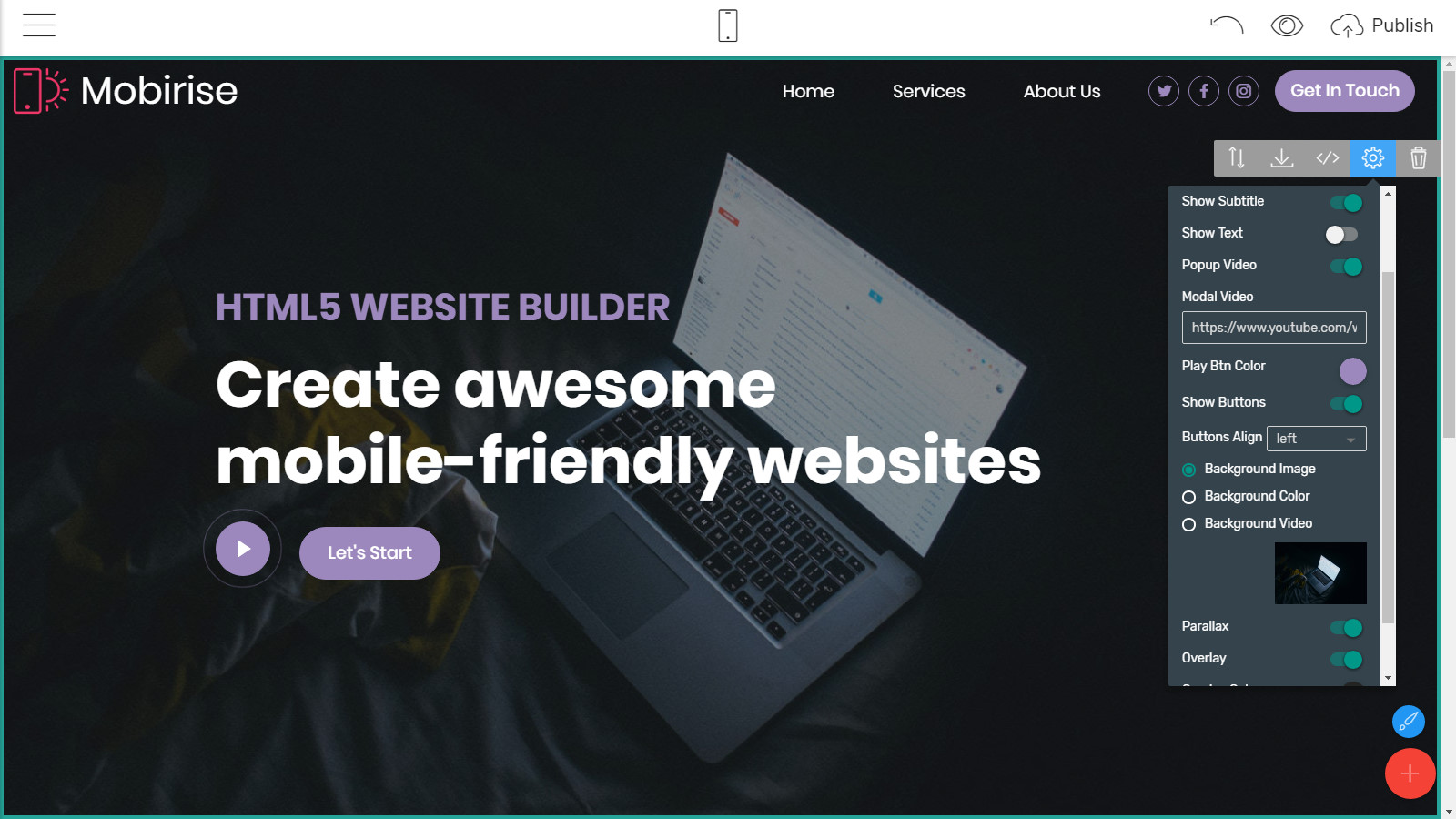 mobile-friendly site themes