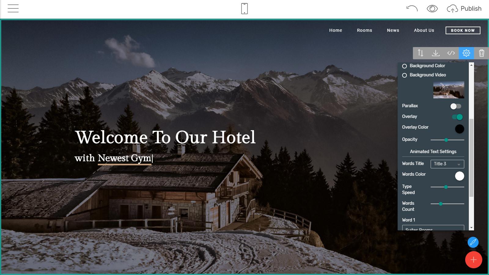 mobile webpage templates