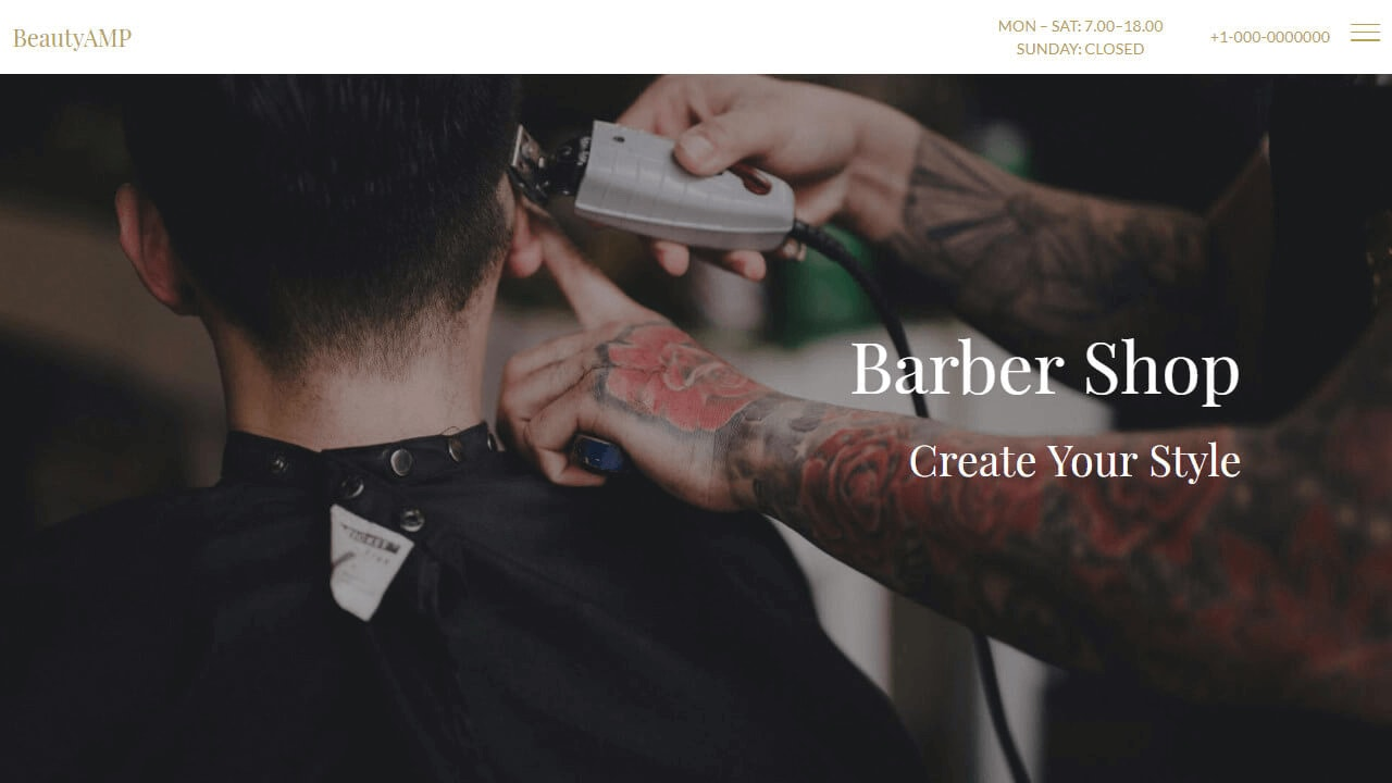 Barber Shop Template